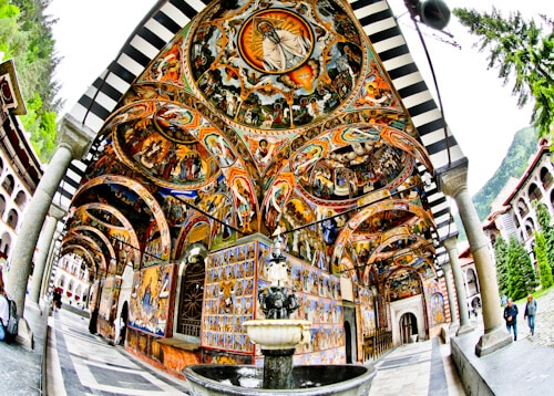 Rila Monastery - A day trip from Sofia - frescoes