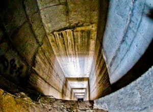 Mostar Sniper Tower - Elevator Shaft