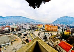 Mostar Sniper Tower - View from the Sniper Tower