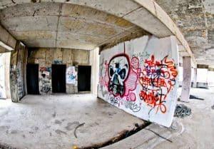 Mostar Sniper Tower - Street Art