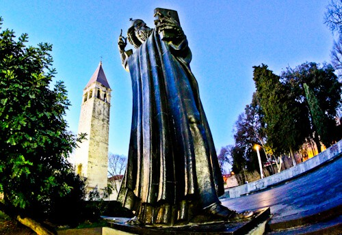 Split Croatia - Things to do in Split - Gregory of Nin