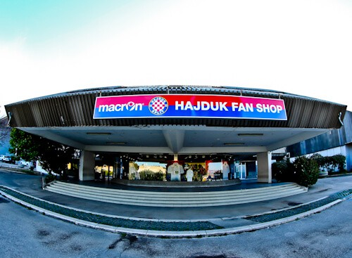 Hajduk Split - Museum and Stadium Tour - Club Shop