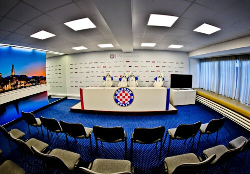 Hajduk Split - Museum and Stadium Tour - Press Room