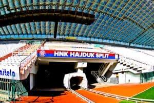 Hadjuk Split - Museum and Stadium Tour - Players Tunnel