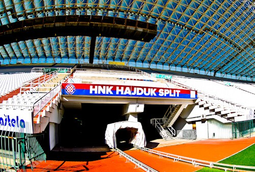 Hajduk Split - Museum and Stadium Tour - Players Tunnel