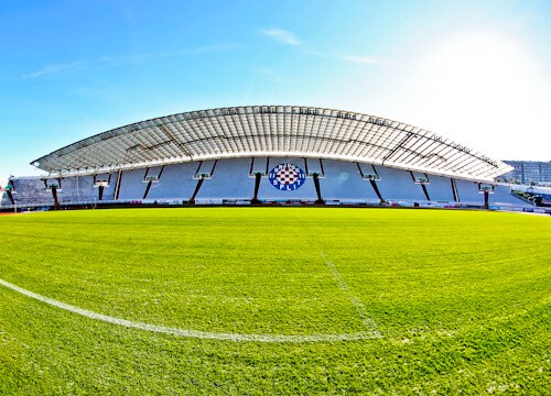 Hajduk Split - Museum and Stadium Tour - Pitch Side