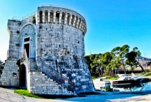 Trogir - A day trip from Split Croatia to the UNESCO city - St Mark's Tower