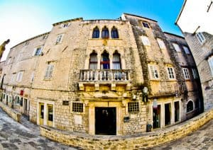 Trogir - A day trip from Split Croatia to the UNESCO city - Cipiko Palace
