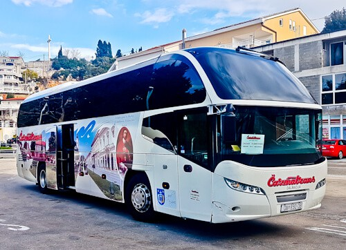 Bus from Split to Dubrovnik - 4 hours - €15