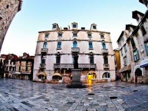 Split Croatia - Things to do in Split - Fruit Square