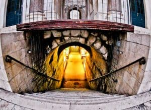 Diocletian's Palace - UNESCO world heritage site in Split Croatia - Underground