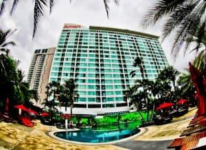 Pattaya Hotels - Amari Ocean Beach Road - Location