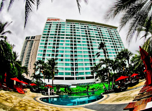 Pattaya Hotels - Amari Ocean Beach Road - Location
