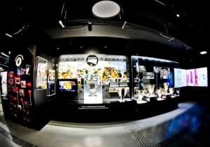 Besiktas FC Stadium and Museum Tour - Trophy Cabinet