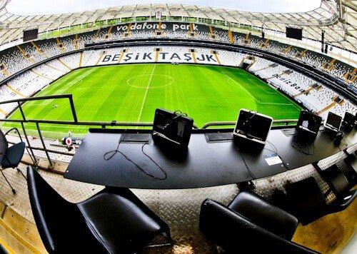 Besiktas FC Stadium and Museum Tour - Media Section