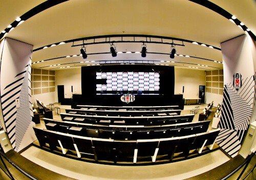 Besiktas FC Stadium and Museum Tour - Media / Press Room