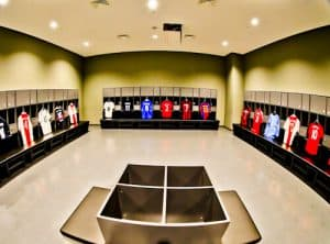 Besiktas FC Stadium and Museum Tour - Away Team Dressing Rooms