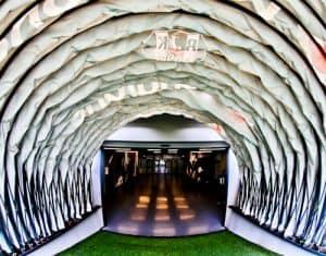 Besiktas FC Stadium and Museum Tour - Players Tunnel