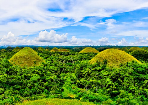 Bohol - Things to do in Bohol Philippines - Chocolate Hills