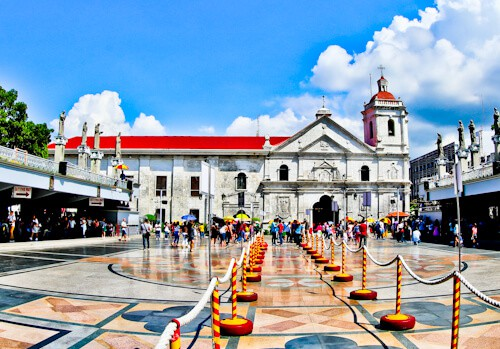 Cebu - Things to do in Cebu City Philippines - Basilica Minore del Santo Niño