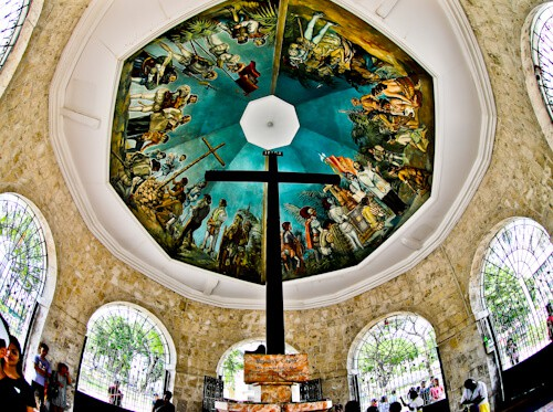 Cebu - Things to do in Cebu City Philippines - Magellan's Cross