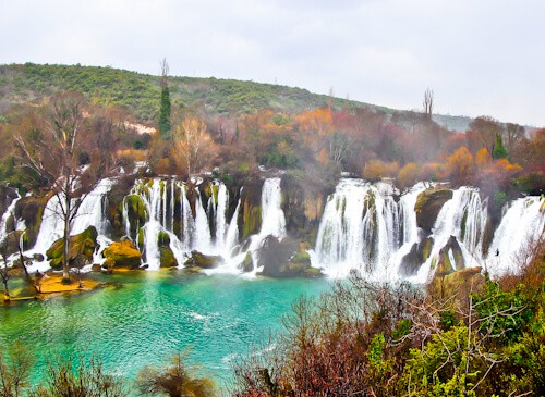 Bosnia - Day Trips from Mostar - Kravice Waterfalls