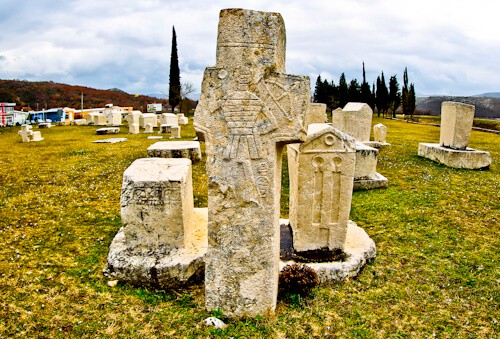 Bosnia - Day Trips from Mostar - Stecci Medieval Tombstones Graveyards (UNESCO site)