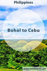 Bohol - Things to do in Bohol including the Chocolate Hills and see the worlds smallest primate, the Tarsier.