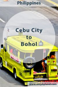 Cebu - Things to do in Cebu City. Additionally, how to take the fast ferry from Cebu City to Tagbilaran Bohol.