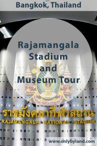 Rajadamnern Stadium and Museum Tour - Bangkok, Thailand