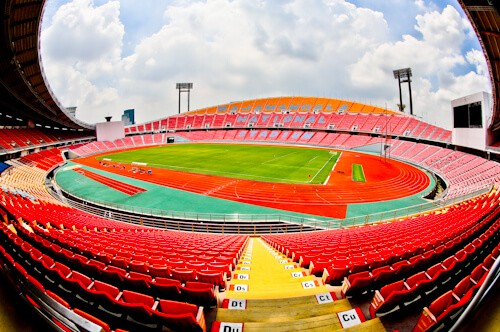 Rajamangala National Stadium and Museum Tour, Bangkok - Stadium