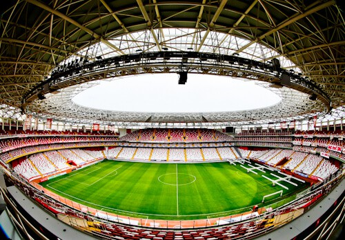 Antalyaspor Stadium Tour, Antalya Turkey - Eco-Friendly Stadium