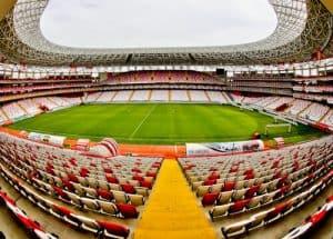 Antalyaspor Stadium Tour, Antalya Turkey - Stadium