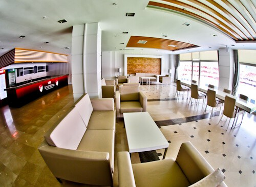 Antalyaspor Stadium Tour, Antalya Turkey - VIP Section
