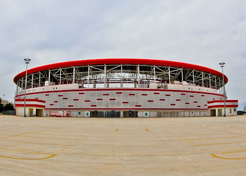 Antalyaspor Stadium Tour, Antalya Turkey - Location