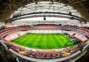Antalyaspor Stadium Tour, Antalya Turkey
