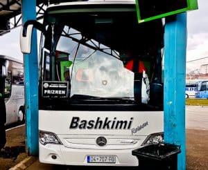 How to get from Pristina to Prizren Kosovo - intercity bus