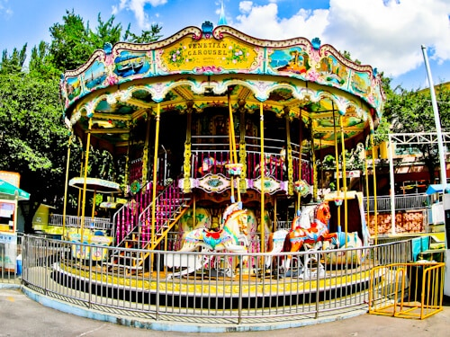 Gangnam Style filming locations in Seoul, South Korea - Carousel