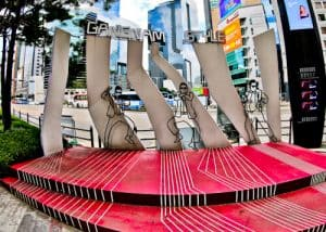Gangnam Style filming locations in Seoul, South Korea - Horse Dance Stage