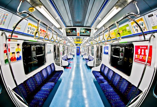 Gangnam Style filming locations in Seoul, South Korea - Incheon Metro Line 1