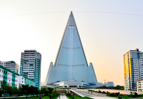 Hotel Ryugyong - Pyongyang North Korea - facts