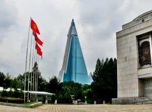 Hotel Ryugyong - Pyongyang North Korea - viewpoints