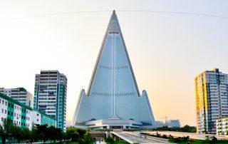 Hotel Ryugyong - Pyongyang North Korea