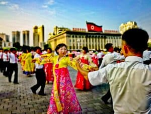 People Photography in North Korea - Victory Day Parade