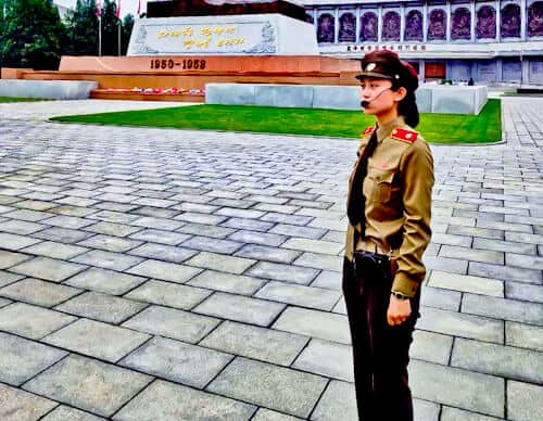 People Photography in North Korea - Korean Soldier