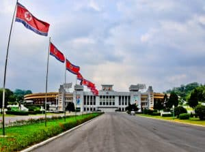 People Photography in North Korea - Kim Il Sung Stadium