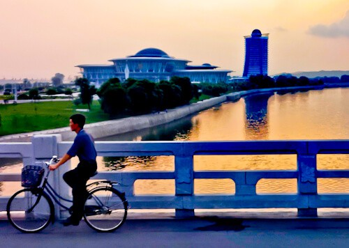 People Photography in North Korea - Street Scenes