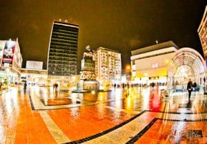 Nis Serbia - Things to do in the third largest Serbian City - King Milan Square