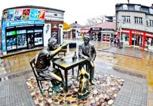 Nis Serbia - Things to do in the third largest Serbian City - Stevan Sremac and Kalca Monument