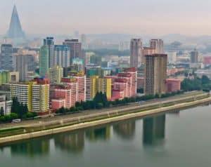 Hotel Yanggakdo - Pyongyang hotel North Korea - A Room with a view